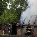 Požar na krovištu gospodarskog objekta u naselju Paklenica