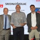 """Nagrade Hrvatskog školskog sportskog saveza – nagrada ŠSD """"Srednjoškolac"""" SŠ Novska"""