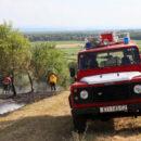 Požar otvorenog prostora u Starom Grabovcu – gorjela trava u voćnjaku